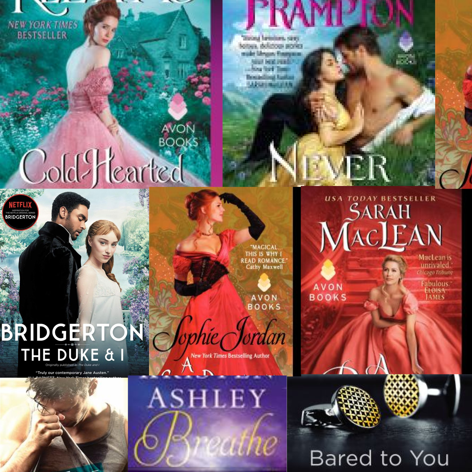 Sizzling hot reads