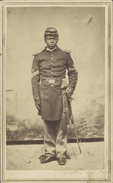 Learn about Wisconsin African Americans in the Civil War during History at Home