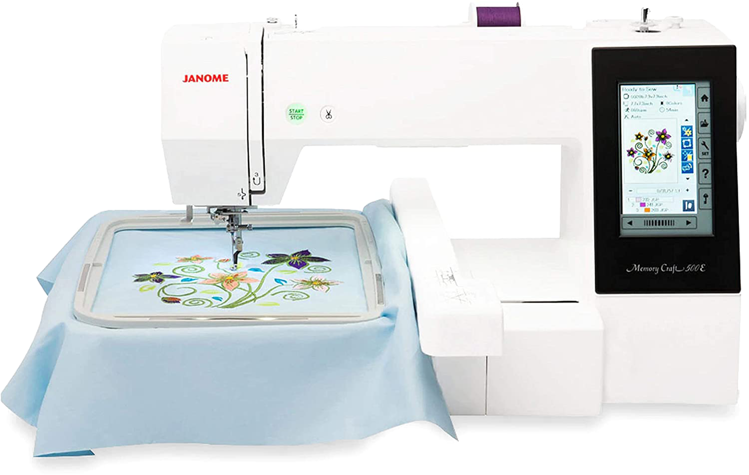Learn about new embroidery machine at Idea Studio