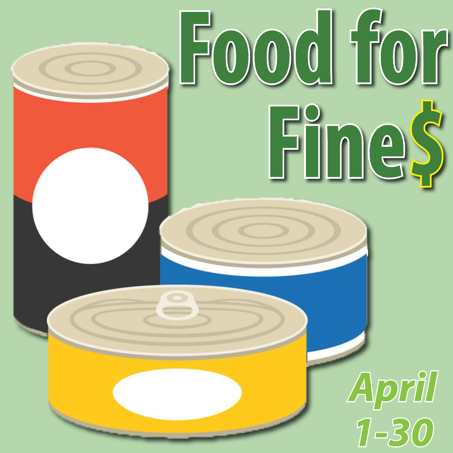 Food for Fines returns to FDLPL in April