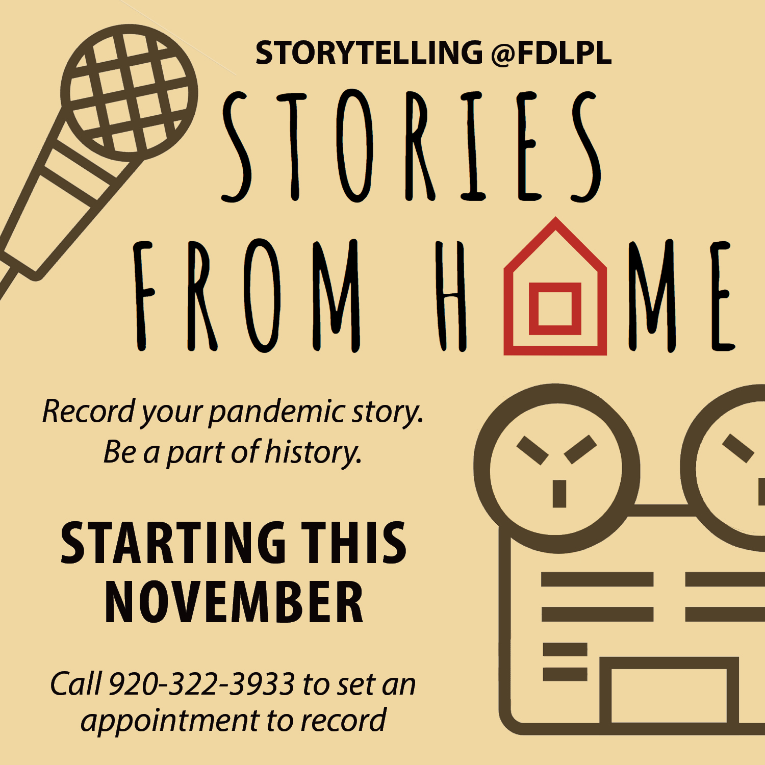 Community invited to share pandemic stories for new history initiative