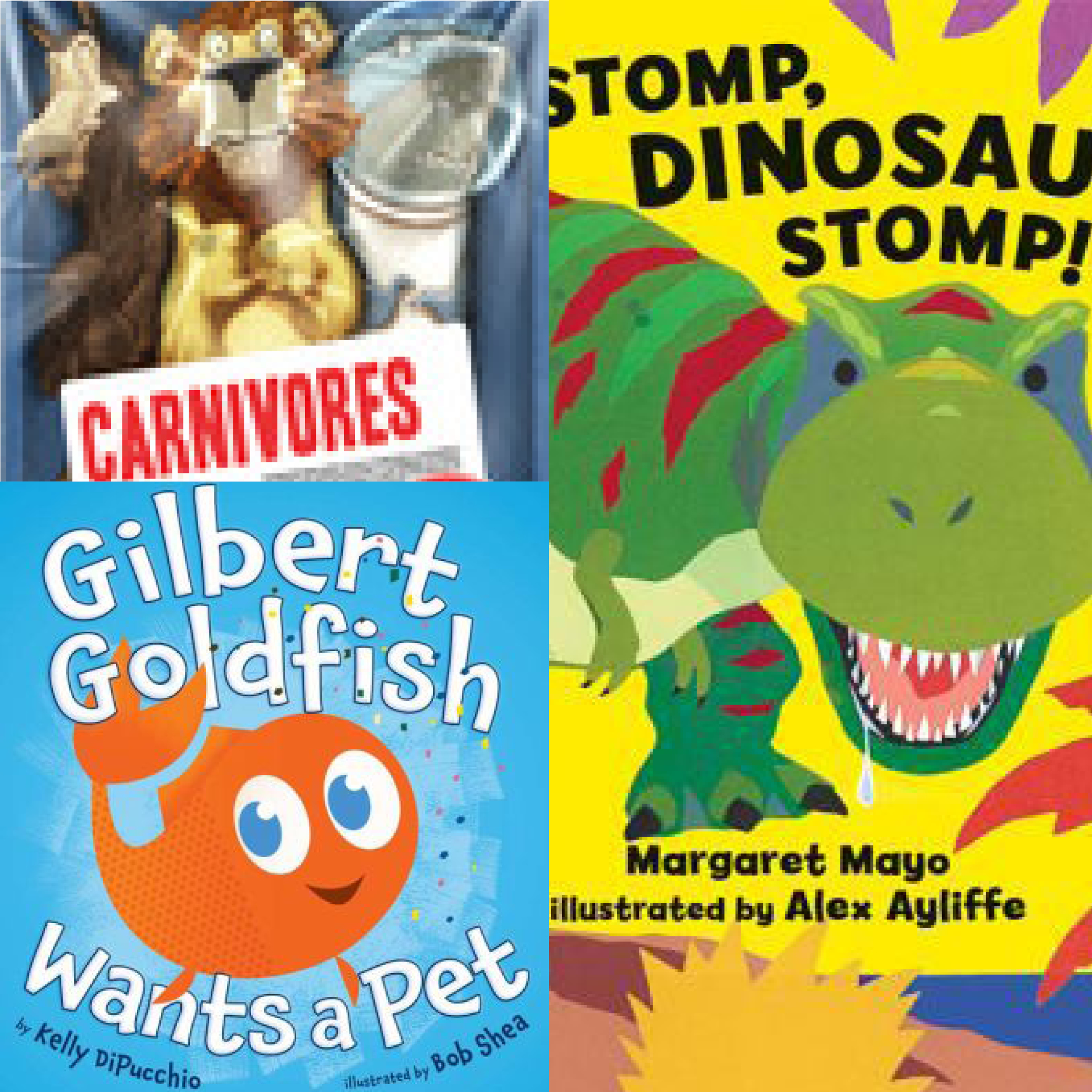 Carnivores, dinosaurs and a fish featured in September StoryWalks