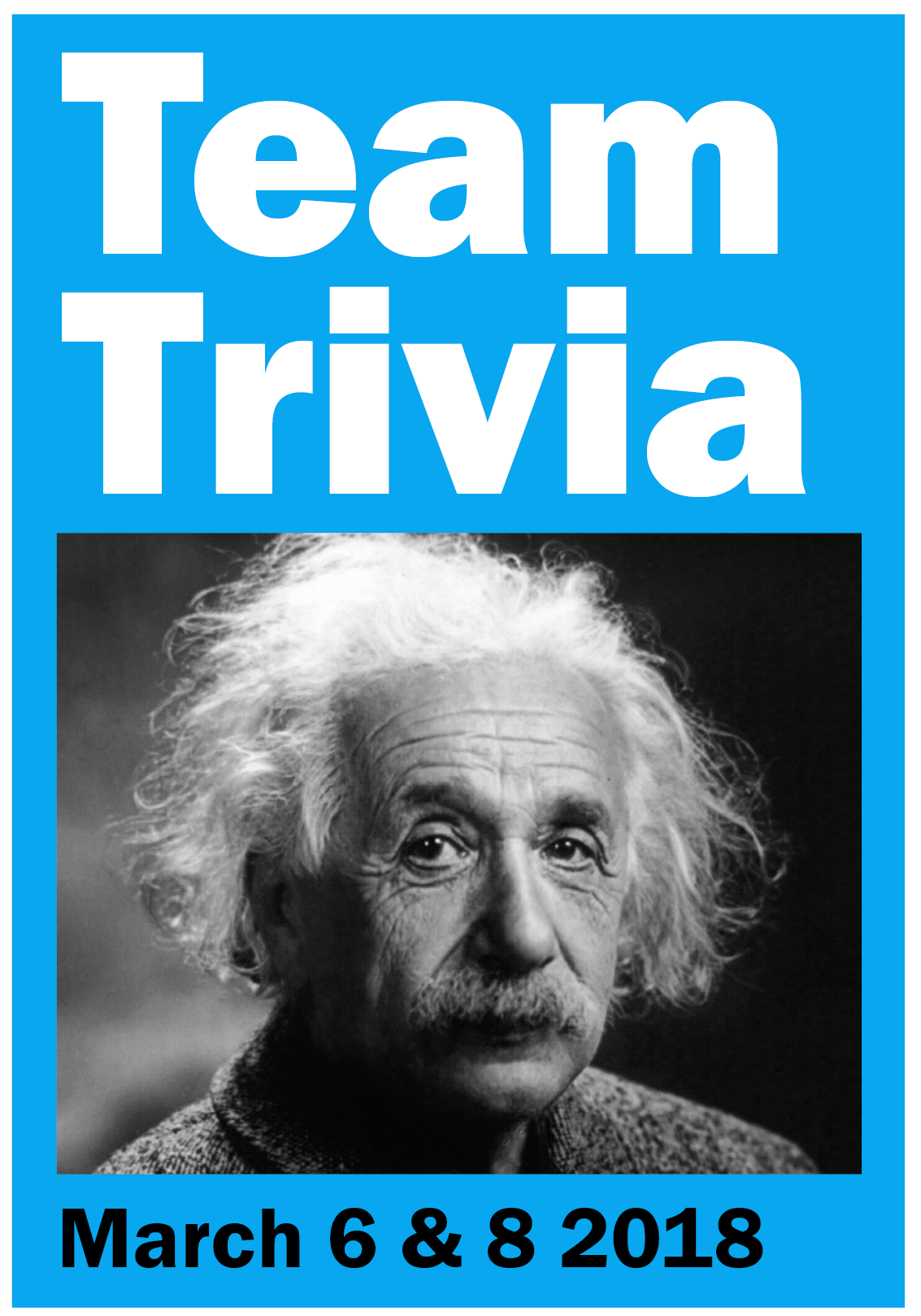Brainiacs unite! It's time to register for Team Trivia