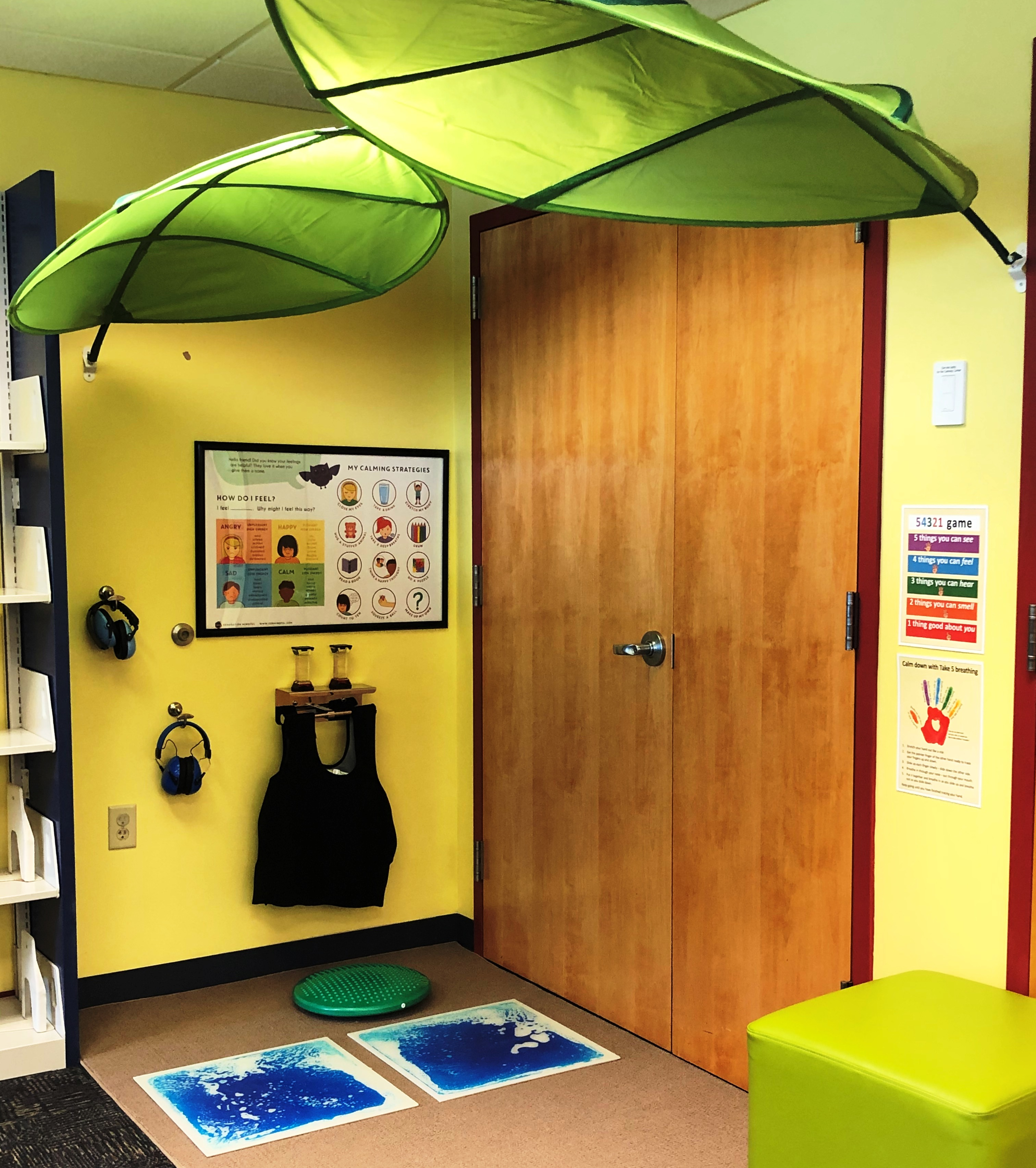 New Calming Corner in Children