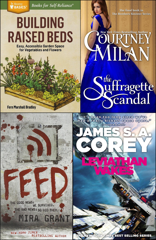 Gardening, romance, horror, sci-fi: Spring reading