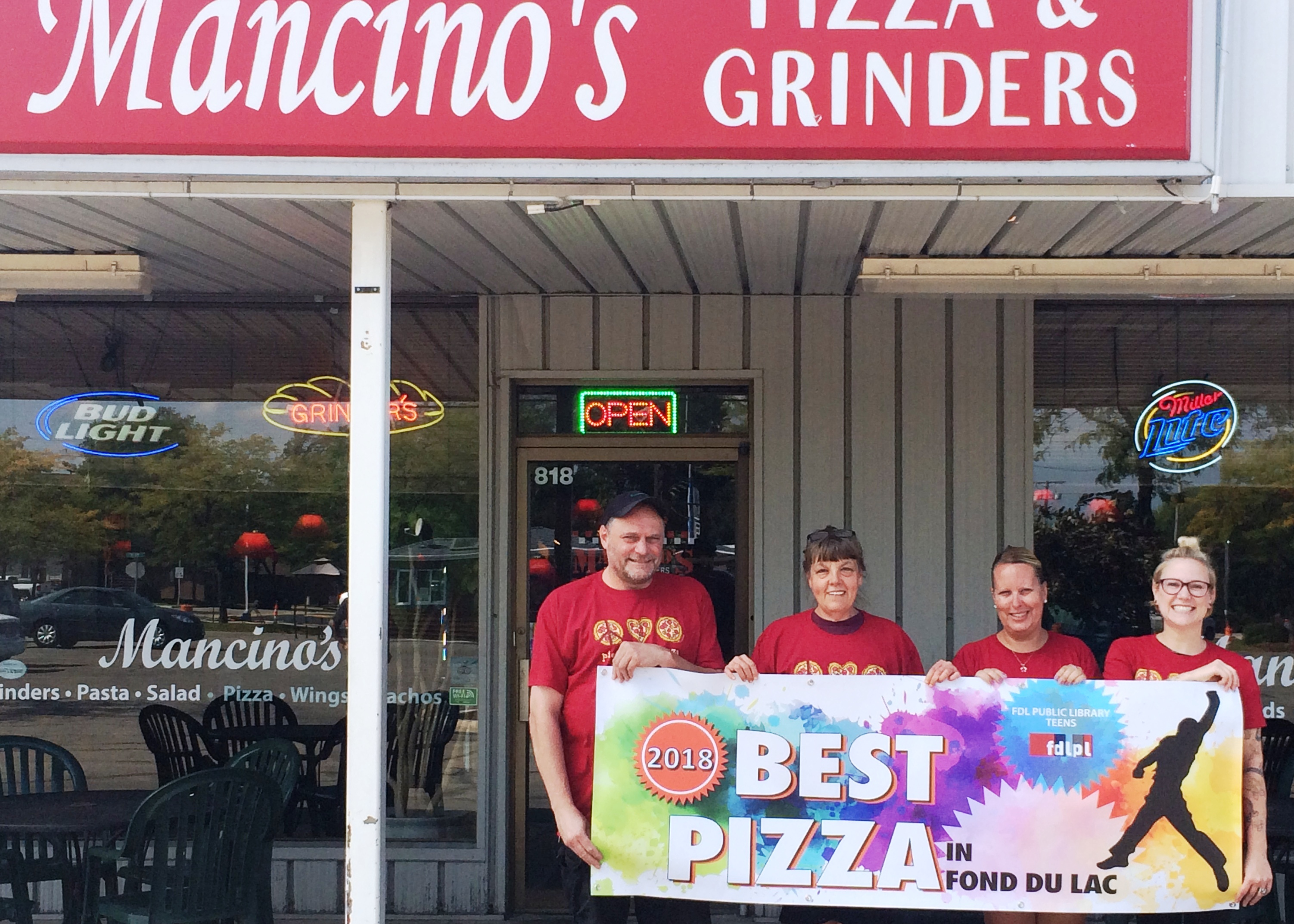Mancino's chosen best Best Pizza