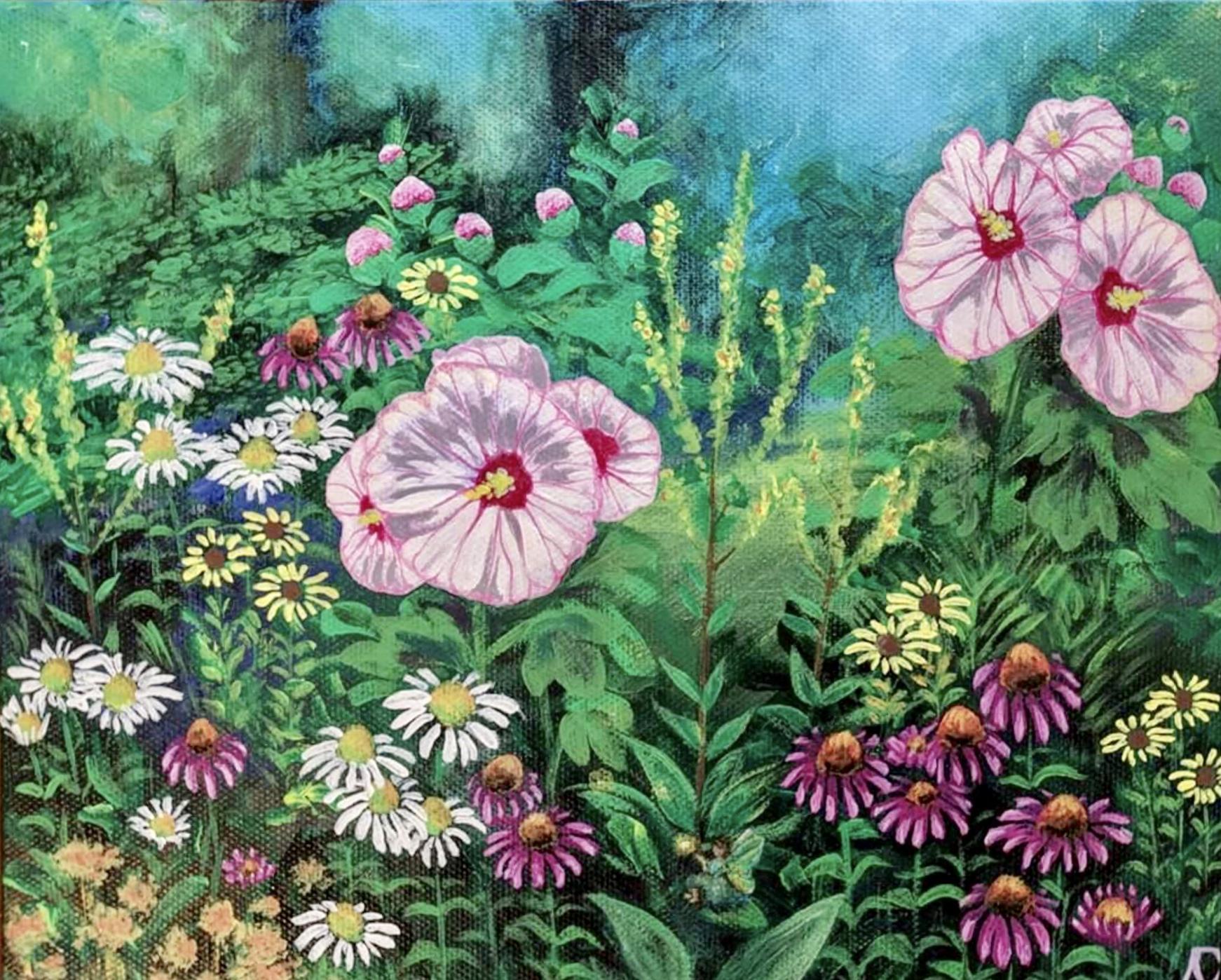 'Fleurishes' celebrates flower power
