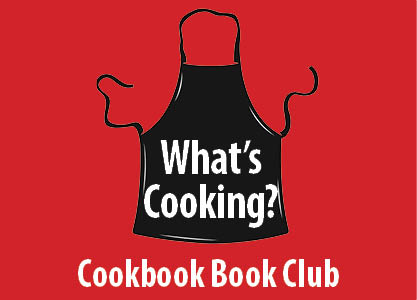 What's Cooking Cookbook Club starts Jan 28