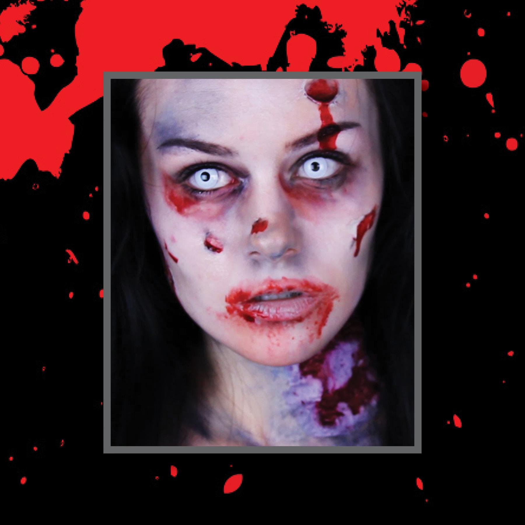 Teen Zombie Make-up Oct 13